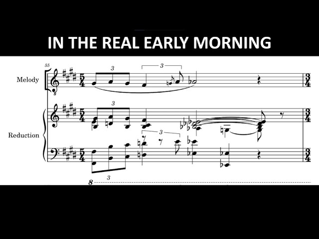 In The Real Early Morning- Jacob Collier [Transcription]