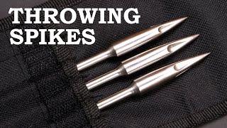 Making Simple Throwing Spikes - Ninja Bo Shuriken