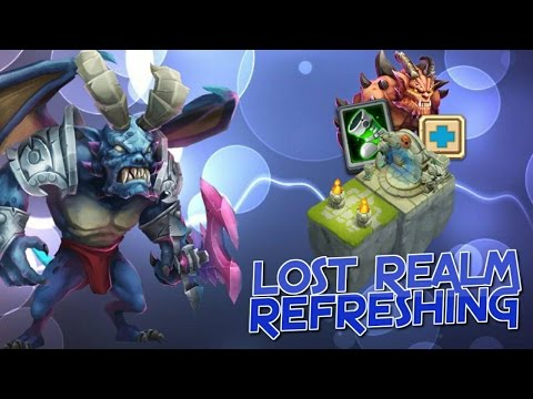 Castle Clash Lost Realm & Decisions!