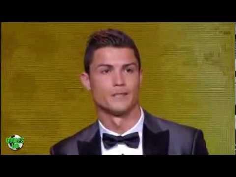 FIFA  Ballon D'Or 2013   WINNER  CRISTIANO RONALDO HD