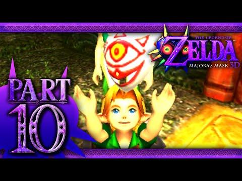 The Legend of Zelda: Majora's Mask 3D - Part 10 - Swamp Spider House