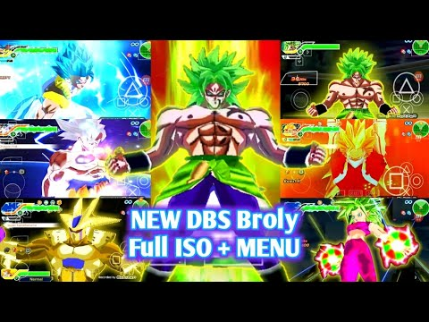 DOWNLOAD NEW DBZ TTT MOD Full BT3 ISO + MENU With DBS Broly New Texture And Movie Goku Real Texture - 동영상