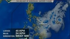 SONA: Weather update as of 9:41 p.m. (Sept. 17, 2014)