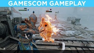 For Honor: Marching Fire GAMESCOM GAMEPLAY