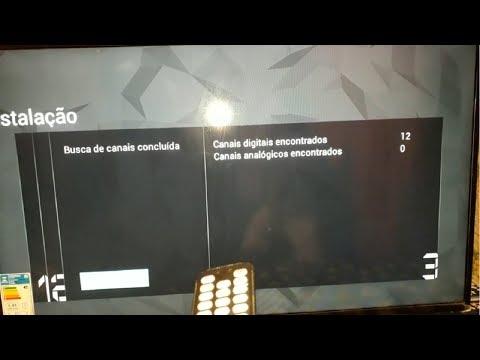 SINTONIZAR CANAIS DIGITAIS DA SMART TV AOC
