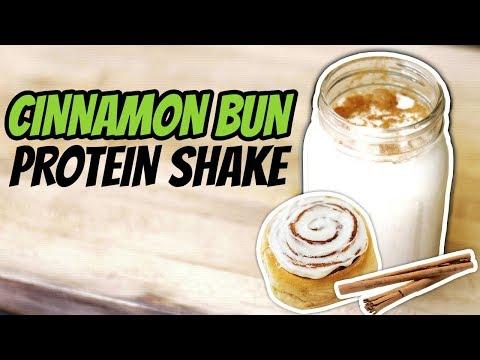 Healthy Nighttime Snack For Weight Loss (CINNAMON BUN PROTEIN SHAKE RECIPE) | LiveLeanTV