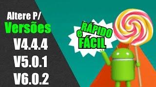 Como mudar a versão de qualquer Android [Root] números