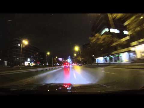 Audi SQ 5 TDI vs BMW e90lci 330dA hard racing in traffic - Onboard Camera