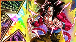 THE NEW BEST UNIT IN DOKKAN! 100% RAINBOW STAR LR SSJ4 GOKU SHOWCASE! (DBZ: Dokkan Battle)