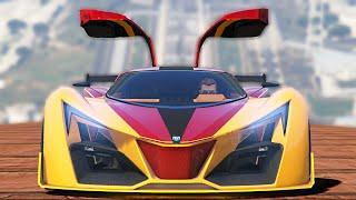 NEW BEST SUPER CAR IN THE GAME!? (GTA 5 DLC)