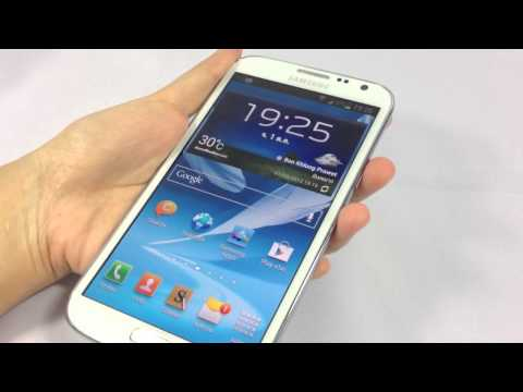 รีวิว Samsung Galaxy Note II (Samsung Galaxy Note 2 review)
