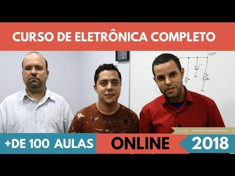 CURSO ELETRÔNICA A DISTANCIA COMPLETO, CURSO DE ELETRÔNICA AVANÇADA