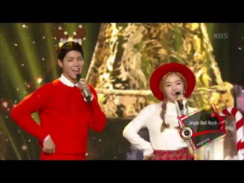 [kbs world] 뮤직뱅크 - 박보검 · 아이린, Jingle Bell Rock.20151225