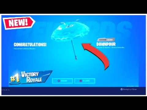 *INSTANTLY* Unlock The Fortnite Chapter 2 Victory Umbrella By Using This Fortnite Glitch!