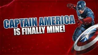 New Character Captain America Unlocked In Marvel Strike Force