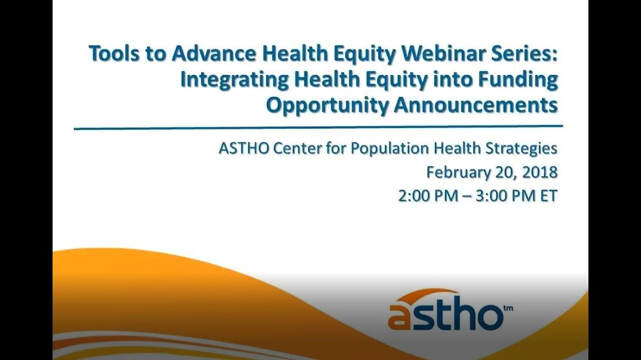 Health Equity and Social Determinants of Health   State