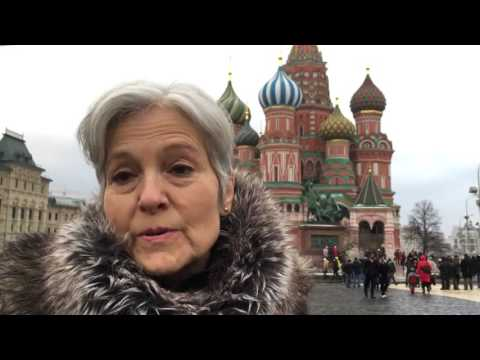 Jill Stein with in Red Square