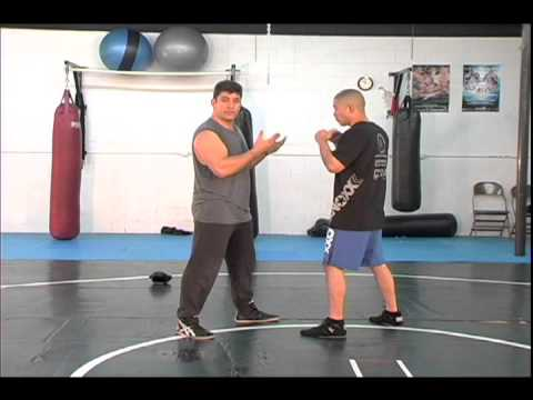 Combat Jiu-jitsu Self-Defense Combatives DVD Part 1 Fence Pre-emptive Strikes Initial Contact
