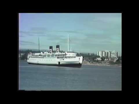 Victoria, BC, Canada 1988: Harbour Scenes and Historic Ships