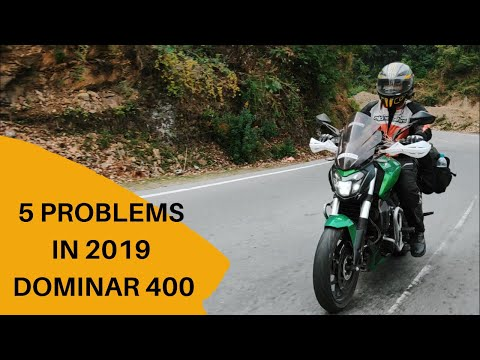 5 Problems in 2019 Dominar 400