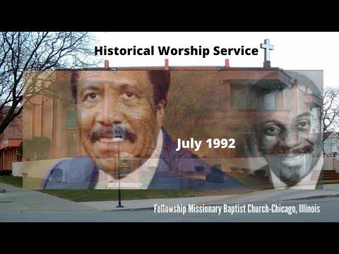 July 1992Bishop David Ellis & Rev. Dr. Clay Evans Tag Team Preaching