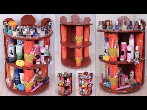 DIY Home Organization Craft Idea || Makeup Organization Idea || Handmade Things