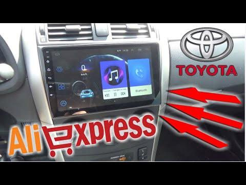 🚗ОБЗОР 2DIN МАГНИТОЛА С АЛИЭКСПРЕСС  2 ДИН для Toyota Corolla E140 E150