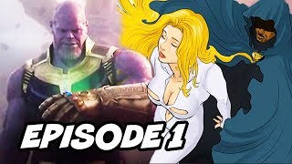 Cloak and Dagger Episode 1 - 2 Easter Eggs and Infinity War Ending Timeline