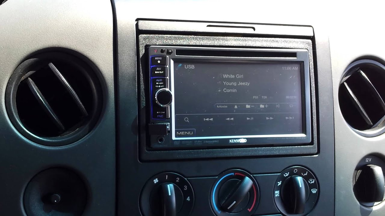 F150 Four 10 Inch Subwoofers Youtube