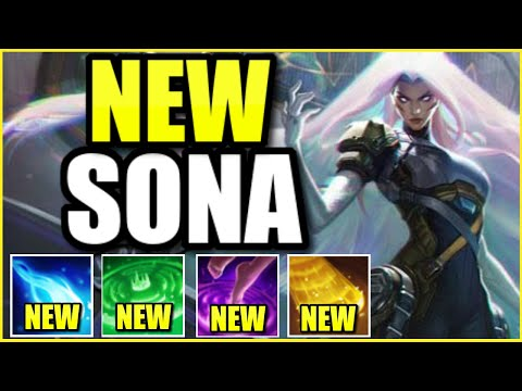 (FULL AP BUILD!) THIS *NEW* PSYOPS SONA SKIN IS THE COOLEST SKIN IN THE ENTIRE GAME (2 SKINS IN ONE)