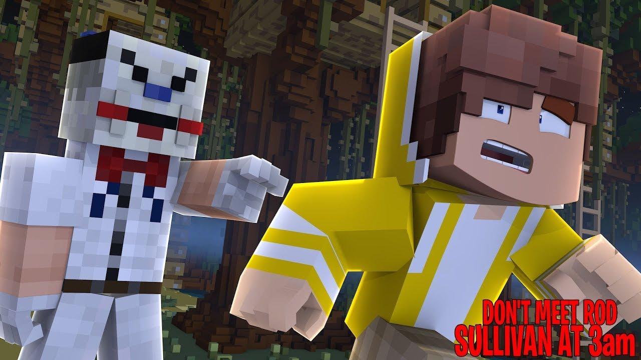 Minecraft - ESCAPING FROM EVIL ICE SCREAMS ROD SULLIVAN!!