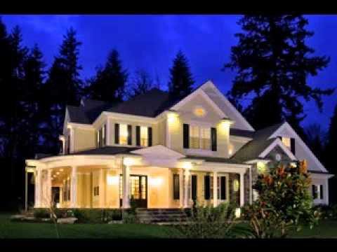 Exterior home lighting design ideas - YouTube