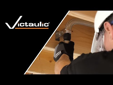Victaulic VicFlex™ Dry Sprinkler Style VS1 Balcony Pendent Installation