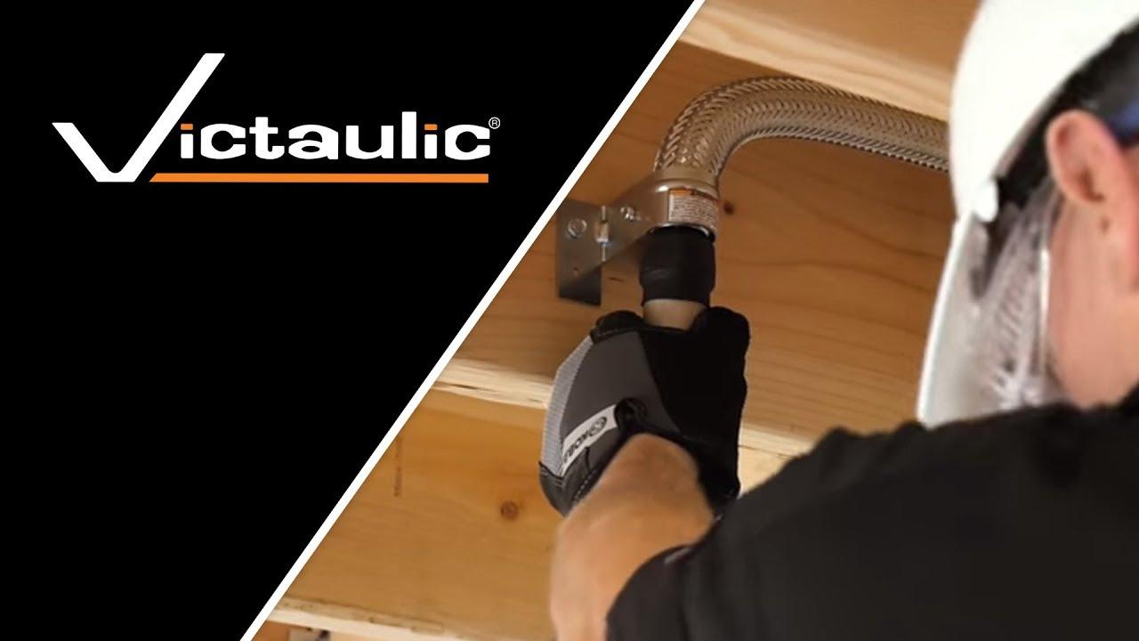 Victaulic Style VS1 VicFlex™ Dry Sprinkler Balcony Pendent Installation  Instructions