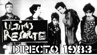 ULTIMO RESORTE-Intro Silvia Resorte+Peligro Social+Directo Sala Zeleste 1983-