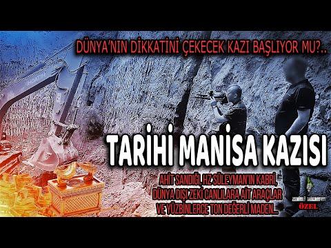 TARİHİ MANİSA KAZISI