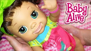 Baby Alive Real As Can Be Baby Doll Melissa Details and Feeding