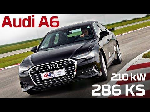 Audi A6 – Test on track NAVAK