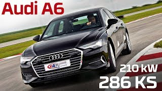 Audi A6 – Test on track NAVAK