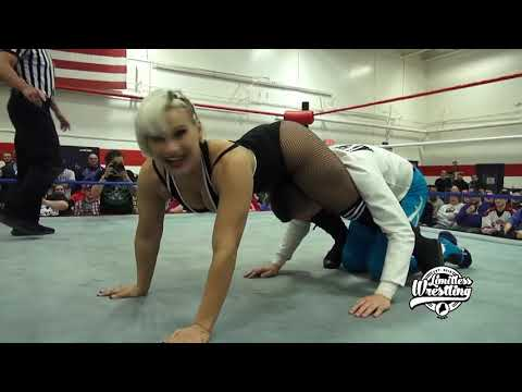 Brett Domino Doesn&39;t Get His Smooch From The Platinum Hunnies - Limitless Wrestling Intergender