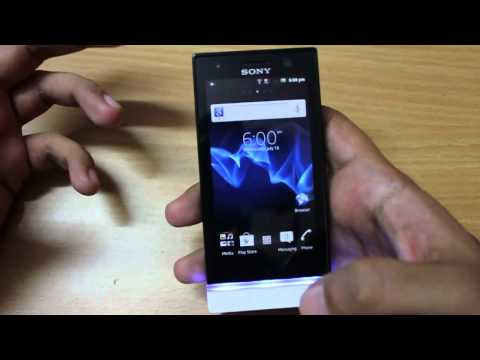 Sony Xperia U Android phone in-depth Review