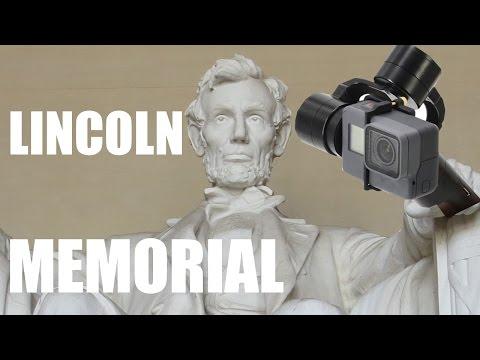 Caminando al monumento a Abraham Lincoln (Washington DC)