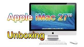 """iMac 27"""" - Unboxing  ((PT))"""