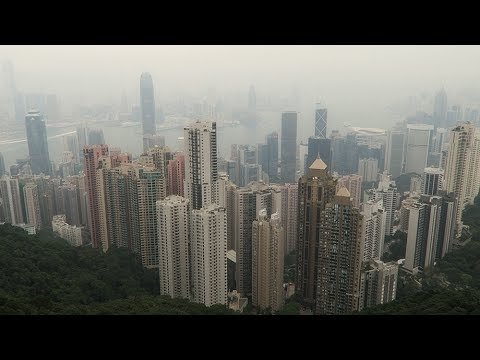 Hong Kong - Ding Ding, Peak Tram, Victoria Peak and Sky Terrace 428 view