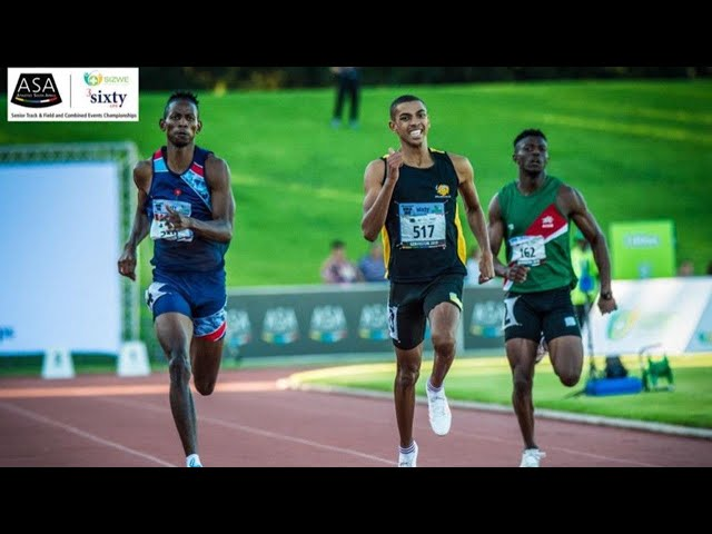 Gardeo Isaacs your new SA 400m Champion! (2019)