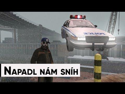 Speciál z Grand Theft Auto IV a napadl nám sníh thumbnail