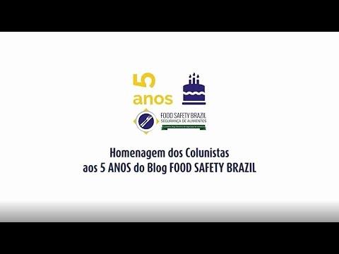 Comemoração pelos 5 Anos do Blog Food Safety Brazil