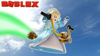 Disney Frozen Wicked Witch Elsa Costume for Halloween in Roblox / Fairies and Mermaids High School