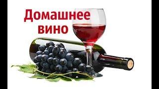 Домашнее виноградное вино.