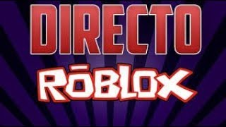 ROBLOX LIVE WITH SUBS BY THE 900 SUBS!!